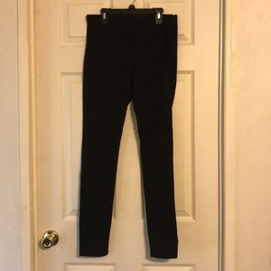 H&M (Divided) Black Stretch Pants Size 8